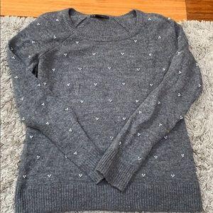 Armani Exchange Pearl embellished sweater